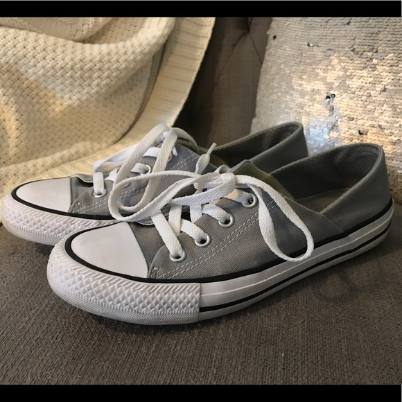 84e9d186cb00d Converse women's coral gray chucks size 7